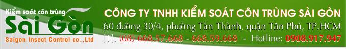 Diệt côn trùng chuyên nghiệp - Công ty Kiểm soát côn trùng Sài Gòn